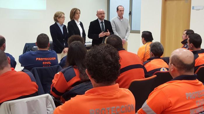 El Gobierno regional agradece a los voluntarios de Protección Civil que sean punta de lanza de la solidaridad