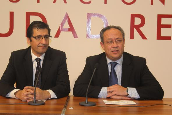 El consejero de Hacienda se reúne con el presidente de la Diputación de Ciudad Real