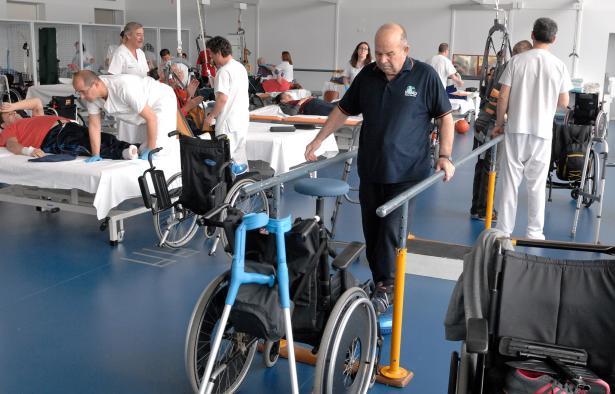 Crecen los ingresos por lesión medular no traumática en el Hospital Nacional de Parapléjicos durante 2015