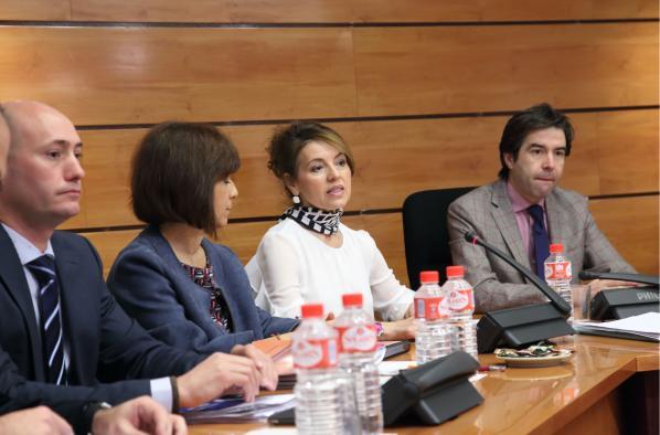 Aurelia Sánchez comparece en la Comisión de Economía y Presupuestos de las Cortes Regionales