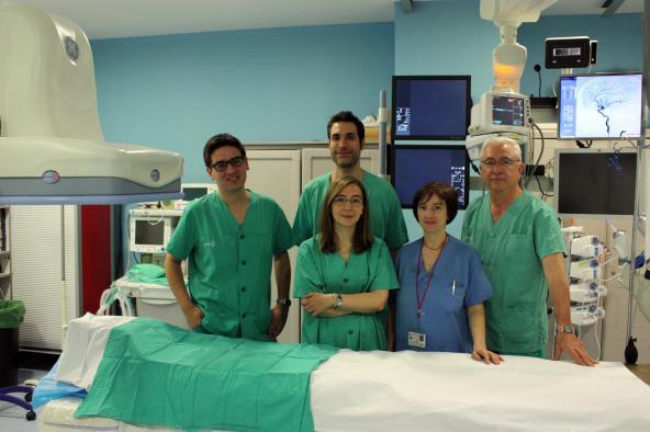 La Unidad de Neurorradiología Intervencionista de Albacete realiza más de 200 procedimientos