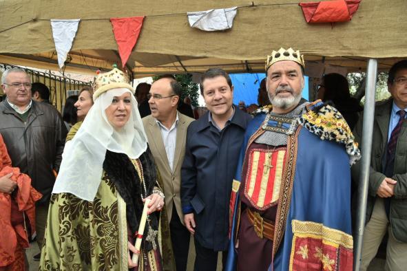 El presidente García-Page asiste a las Jornadas Medievales de Oropesa (Toledo9