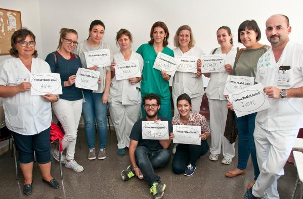 El Área Integrada de Guadalajara se suma a la campaña #HolaYoMeLlamo para humanizar las relaciones entre pacientes y profesionales