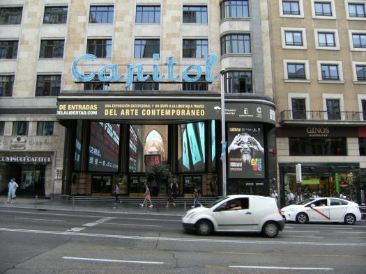 """El Gobierno regional promociona Cuenca y """"La poética de la libertad"""" en la Gran Vía madrileña"""