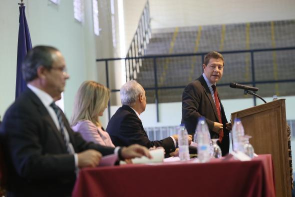 El presidente García-Page sobre el Debate del Estado de la Región