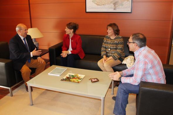 El Gobierno regional felicita al nuevo presidente de la Asociación de Balnearios de Castilla-La Mancha y ultima el programa de Termalismo 2017