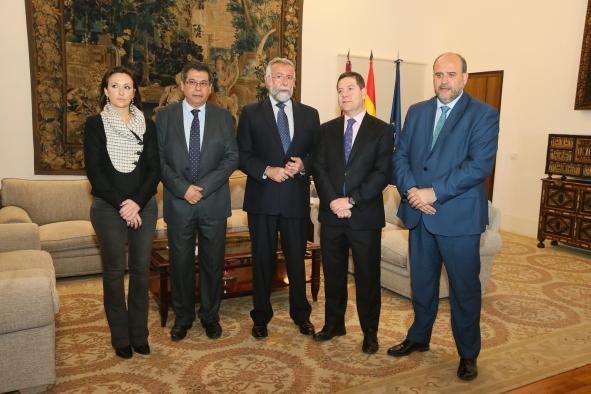 Encuentro con el alcalde de Talavera de la Reina