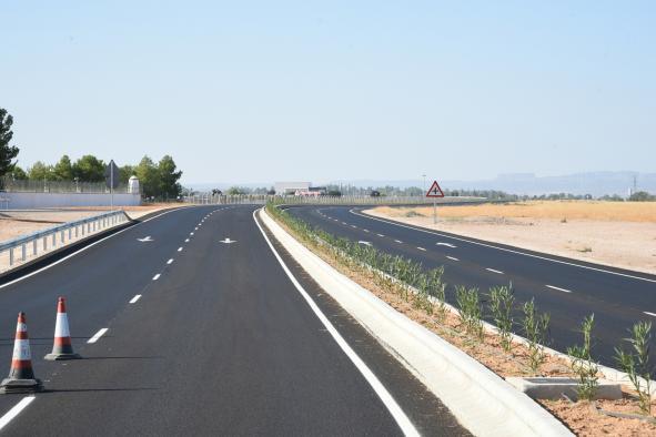 Obras de mejora de la Autovía CM-3203