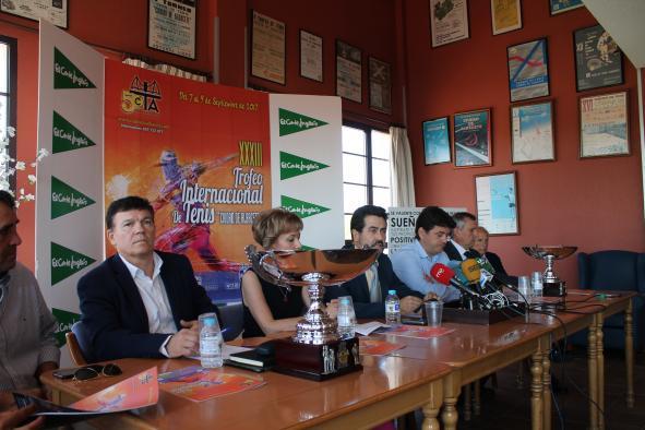 Presentación Torneo Internacional de Tenis Ciudad de Albacete