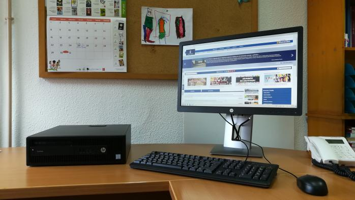 Renovación Equipos Informáticos en colegios de Albacete