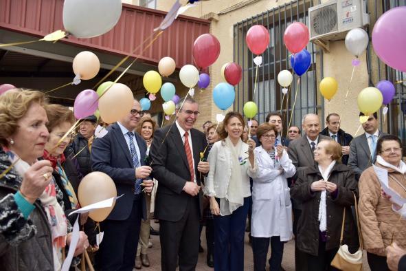 La consejera de Bienestar Social ha asistido al acto del Día Mundial del Párkinson