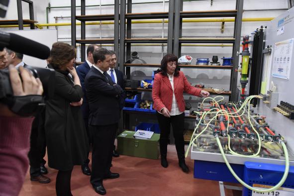 Inauguración de las nuevas instalaciones del CRN de electricidad, agua y gas de Guadalajara