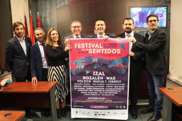 Presentación del cartel y programación del Festival de los Sentidos 2018