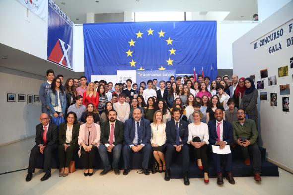 El vicepresidente primero del Gobierno regional ha presidido el Acto Institucional del Día de Europa