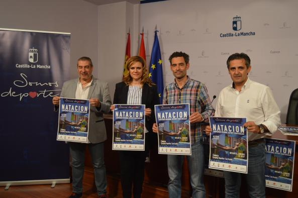 Presentación Campeonato Regional de Natación Cuenca