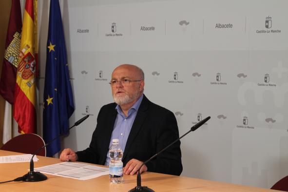 Rueda de prensa de Pedro Antonio Ruiz Santos sobre la reunión del presidente de CLM y el alcalde de Albacete