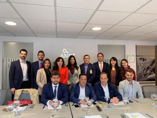 Siete empresas del sector industrial de la región participan en una misión comercial a Colombia