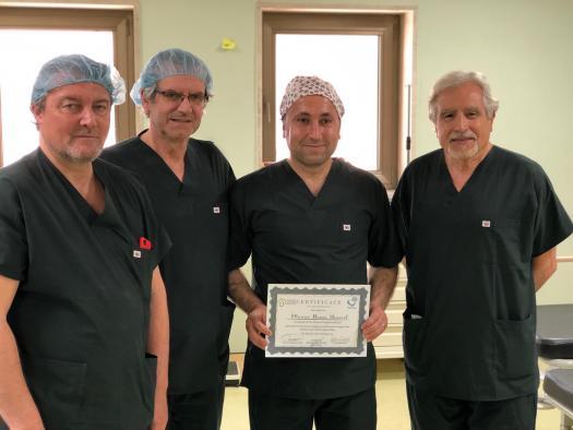 El jefe de servicio de Urología del Hospital de Parapléjicos participa en un proyecto de cooperación en Kurdistán para operar a niños con complicaciones