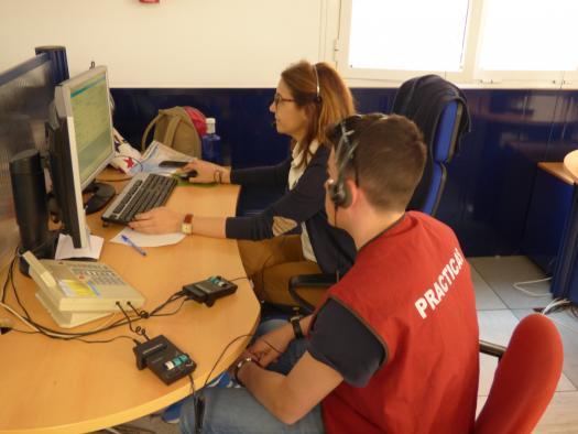Un total de 118 alumnos de Formación Profesional del ciclo de Emergencias Sanitarias han realizado prácticas en el Servicio 1-1-2 de la región