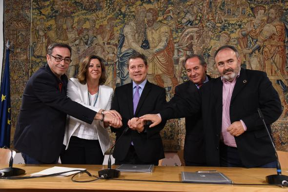 Primera reunión con agentes sociales y económicos para un nuevo Pacto por el Crecimiento y la Convergencia Económica