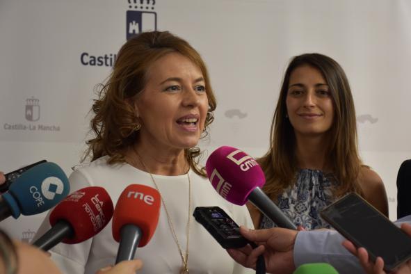 """Aurelia Sánchez: """"La estructura renovada y ampliada de la Consejería de Bienestar Social es el reflejo del espíritu social del nuevo Gobierno de Castilla-La Mancha"""""""
