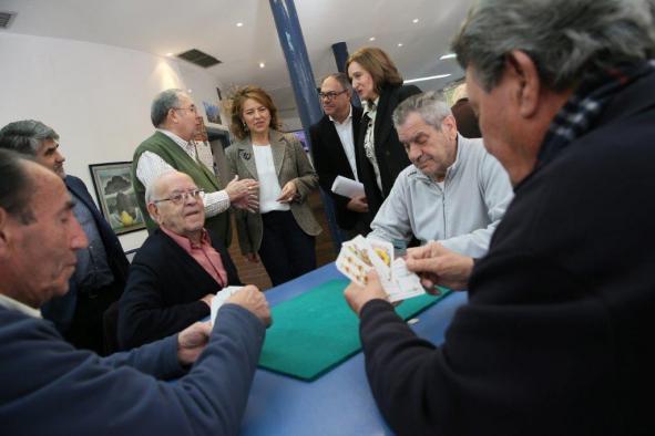 El Gobierno de Castilla-La Mancha potencia la colaboración con las Federaciones de Mayores, que superan ya las 100.000 personas asociadas