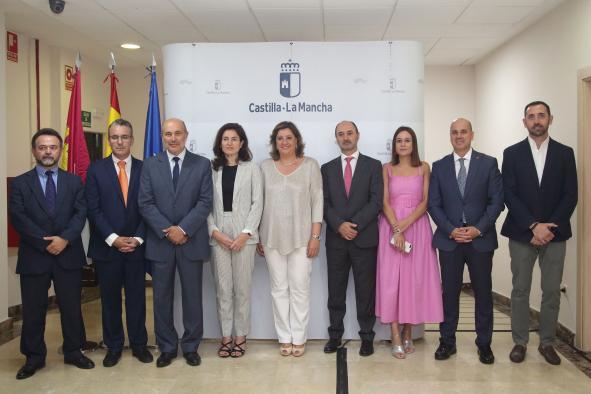 La consejera de Economía, Empresas y Empleo, Patricia Franco, presenta al nuevo equipo de la Consejería de Economía, Empresas y Empleo.