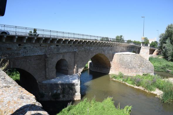 Rehabilitación del Puente Árabe de Guadalajara