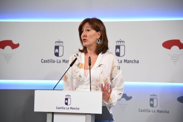 La consejera de Igualdad y portavoz, informa en rueda de prensa de los acuerdos del Consejo de Gobierno (IV)