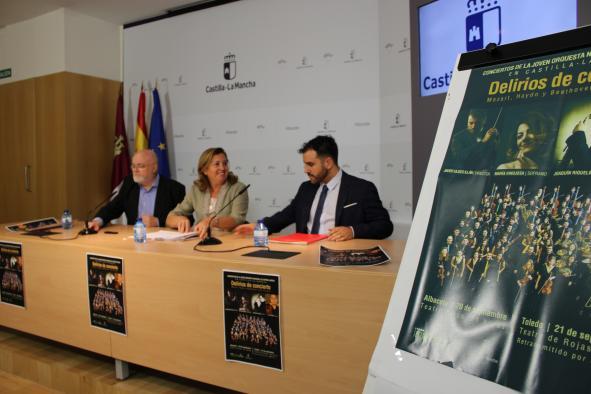 El Gobierno de Castilla-La Mancha programa en Albacete y Toledo dos conciertos de la Joven Orquesta Nacional de España