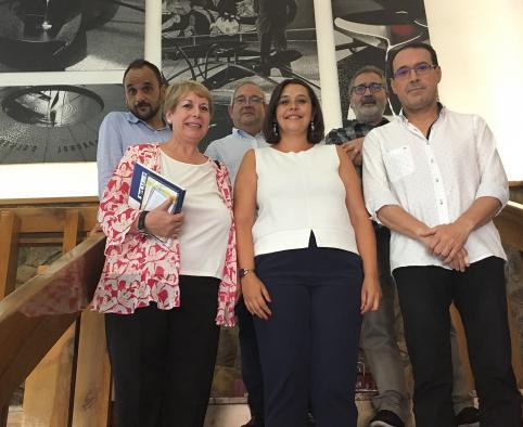 """El Gobierno regional se interesa por Almadén y su comarca por """"ser referentes en cuanto a la gestión del patrimonio cultural"""""""