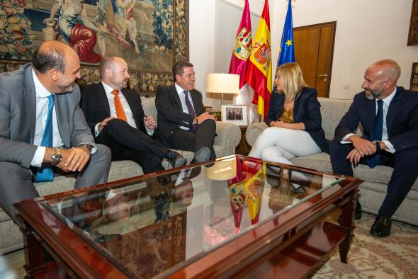 Reunión con la portavoz del Grupo Parlamentario de Ciudadanos Castilla-La Mancha