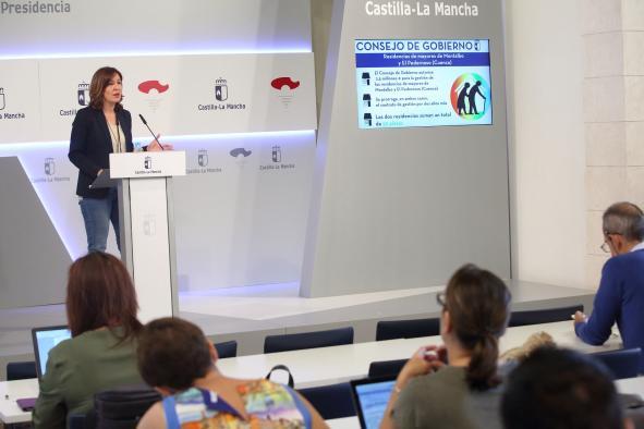 El Consejo de Gobierno autoriza 2,5 millones de euros para la gestión de las residencias de mayores de Montalbo y El Pedernoso (Cuenca)