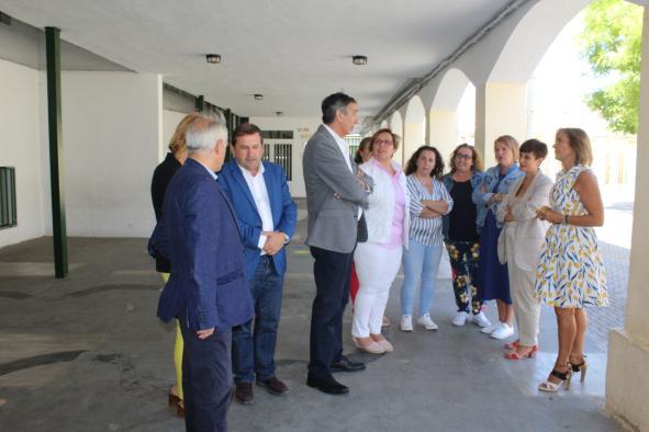 El Gobierno regional resalta el compromiso con la conciliación de las familias de Puertollano con la apertura de tres comedores escolares en los últimos cuatro años