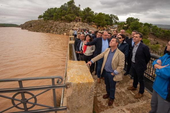 El presidente visita las zonas de Albacete afectadas por el temporal