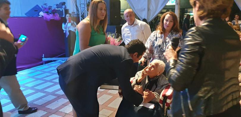 El delegado de Bienestar Social participa en el arranque de las fiestas patronales de Novés