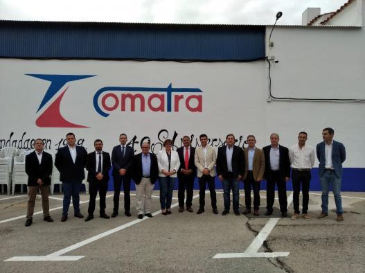 El Gobierno de Castilla-La Mancha resalta las condiciones favorables que ofrece la región para enlazar los centros de producción y distribución debido a su localización estratégica