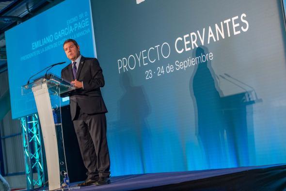 """García-Page considera las futuras elecciones una oportunidad para que los españoles """"nos unamos"""" en torno al concepto de unidad"""