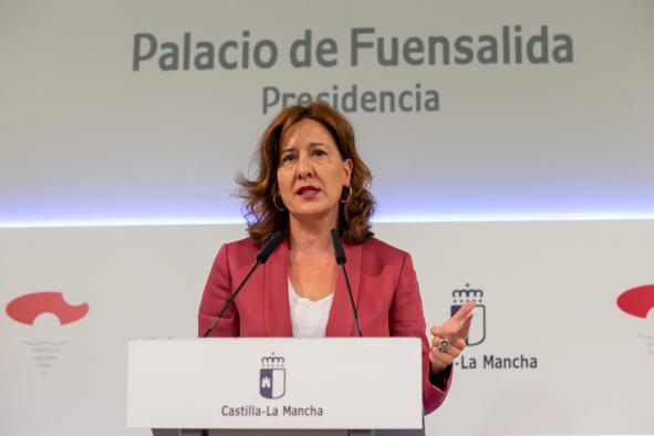 Rueda de prensa del Consejo de Gobierno Blanca Fernández (I)