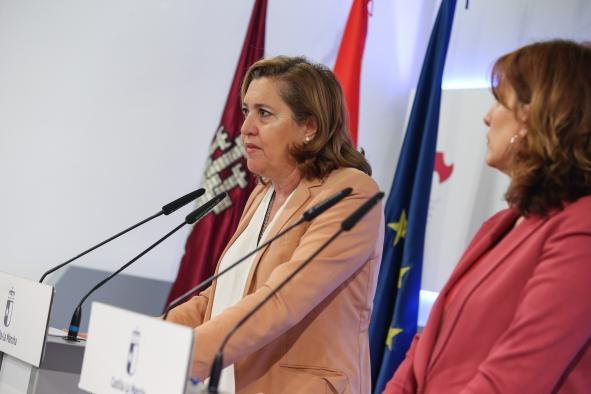 Rueda de prensa del Consejo de Gobierno (Rosa Ana Rodríguez II)