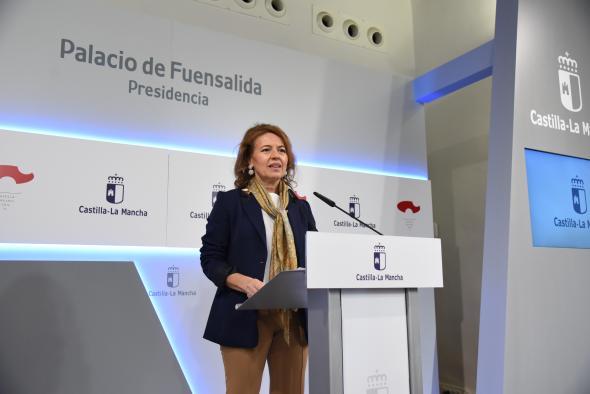 Rueda de prensa del Consejo de Gobierno (Aurelia Sánchez)