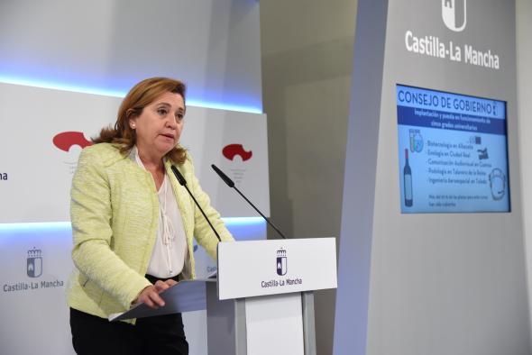 Rueda de prensa del Consejo de Gobierno (Rosa Ana Rodríguez III)