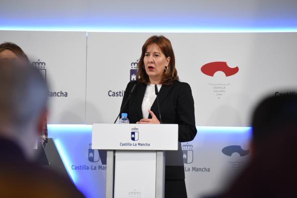 Rueda de prensa del Consejo de Gobierno (Blanca Fernández 6 Noviembre II)