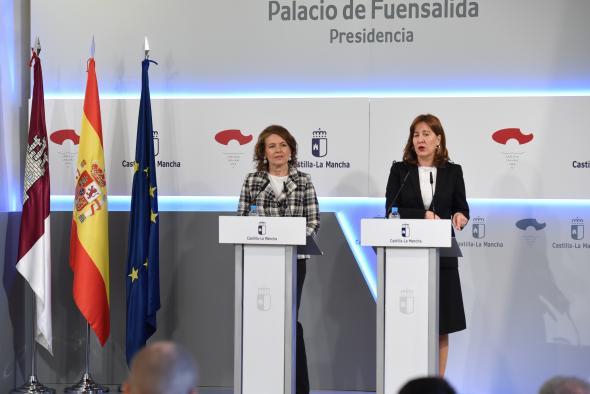Rueda de prensa del Consejo de Gobierno (Blanca Fernández 6 Noviembre IV)
