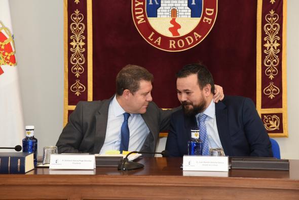 Consejo de Gobierno itinerante en La Roda (PRESIDENTE GARCÍA-PAGE II)