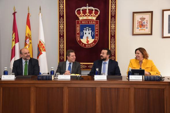 Consejo de Gobierno itinerante en La Roda (PRESIDENTE GARCÍA-PAGE III)
