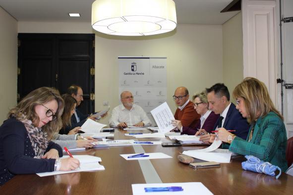 Comisión provincial de Seguridad y Salud Laboral en Albacete