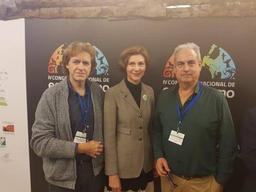 La fortaleza ecoturista que ofrece Ciudad Real, presente en el Congreso Nacional del sector que se celebra en Guadix