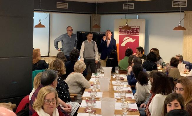 El Gobierno regional promueve la cultura del vino con la celebración en Toledo de una de las catas comentadas de la Fundación Tierra de Viñedos y la Interprofesional del Vino de España