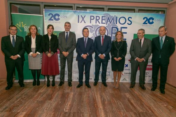 Entrega de los IX Premios COPE Castilla-La Mancha